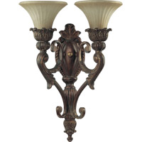 Quorum 5530-2-88 Madeleine 2 Light 16 inch Corsican Gold Wall Sconce Wall Light