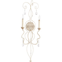 Quorum 5544-2-70 Venice 2 Light 11 inch Persian White Wall Mount Wall Light