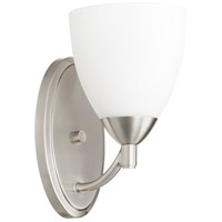 Quorum 5569-1-65 Barkley 1 Light 6 inch Satin Nickel Wall Sconce Wall Light