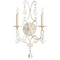 Quorum 5605-2-70 Ariel 2 Light 11 inch Persian White Wall Sconce Wall Light