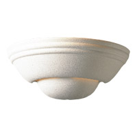 Signature 1 Light 13 inch Textured White Wall Sconce Wall Light