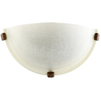 Linen 1 Light 12 inch Oiled Bronze Wall Sconce Wall Light