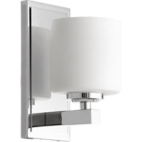 Quorum 5669-1-14 Signature 1 Light 5 inch Chrome Wall Sconce Wall Light