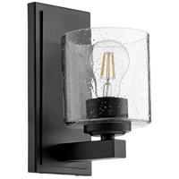 Quorum 5669-1-269 Fort Worth 1 Light 5 inch Noir Wall Sconce Wall Light