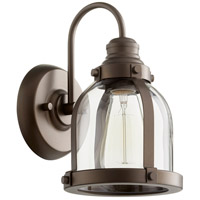 Quorum 586-1-86 Signature 1 Light 7 inch Oiled Bronze Wall Sconce Wall Light