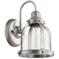 Quorum 586-1-92 Signature 1 Light 7 inch Antique Silver Wall Sconce Wall Light
