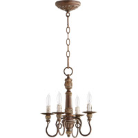 Quorum 6006-4-39 Salento 4 Light 13 inch Vintage Copper Chandelier Ceiling Light