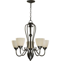 Powell 5 Light 25 inch Old World Chandelier Ceiling Light