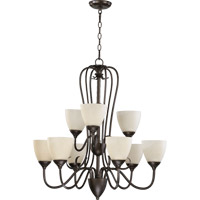 Powell 9 Light 29 inch Toasted Sienna Chandelier Ceiling Light