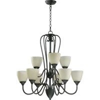 Powell 9 Light 29 inch Old World Chandelier Ceiling Light