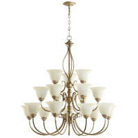 Spencer 18 Light 39 inch Mystic Silver Chandelier Ceiling Light