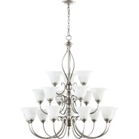 Quorum International Spencer 18 Light Chandelier in Classic Nickel 6010-18-64