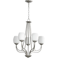 Quorum International Willingham 5 Light Chandelier in Classic Nickel 6012-5-64