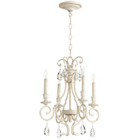 Quorum 6014-4-70 Ansley 4 Light 16 inch Persian White Chandelier Ceiling Light