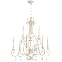 Quorum 6014-9-70 Ansley 9 Light 31 inch Persian White Chandelier Ceiling Light