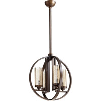 Quorum 603-4-86 Julian 4 Light 19 inch Oiled Bronze Chandelier Ceiling Light