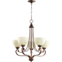 Quorum 6031-5-86 Lariat 5 Light 26 inch Oiled Bronze Chandelier Ceiling Light