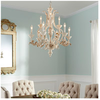 Quorum 6037-9-70 Florence 9 Light 28 inch Persian White Chandelier Ceiling Light alternative photo thumbnail