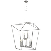 Quorum 604-12-64 Gabriel 12 Light 29 inch Classic Nickel Foyer Pendant Ceiling Light, Quorum Home