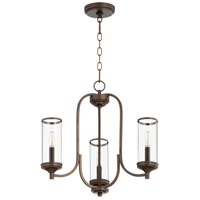 Oiled Bronze Collins Chandeliers