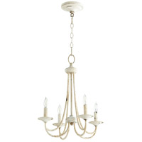Quorum 6050-4-70 Brooks 4 Light 17 inch Persian White Chandelier Ceiling Light