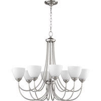 Brooks 8 Light 32 inch Satin Nickel Chandelier Ceiling Light