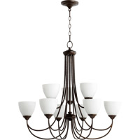 Brooks 9 Light 32 inch Oiled Bronze Chandelier Ceiling Light