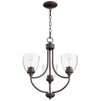 Quorum Oiled Bronze Mini Chandeliers