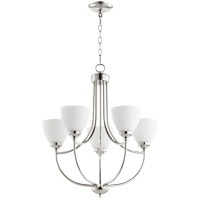 Quorum 6059-5-62 Enclave 5 Light 24 inch Polished Nickel Chandelier Ceiling Light