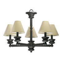Quorum International Madison 5 Light Chandelier in Old World 6074-5-95