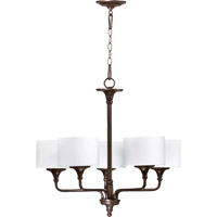Rockwood 5 Light 27 inch Oiled Bronze Chandelier Ceiling Light
