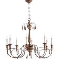 Quorum 6106-8-39 Salento 8 Light 37 inch Vintage Copper Chandelier Ceiling Light