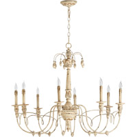Quorum 6106-8-70 Salento 8 Light 37 inch Persian White Chandelier Ceiling Light