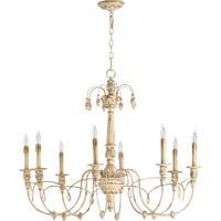 Quorum 6106-8-70 Salento 8 Light 37 inch Persian White Chandelier Ceiling Light