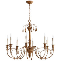Quorum 6106-8-94 Salento 8 Light 37 inch French Umber Chandelier Ceiling Light