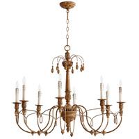 Quorum 6106-8-94 Salento 8 Light 37 inch French Umber Chandelier Ceiling Light
