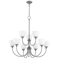 Quorum 6109-9-17 Celeste 9 Light 32 inch Zinc Chandelier Ceiling Light