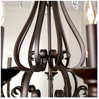 Quorum 6113-9-86 Anders 9 Light 30 inch Oiled Bronze Chandelier Ceiling Light alternative photo thumbnail