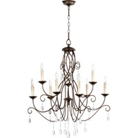 Cilia 9 Light 32 inch Oiled Bronze Chandelier Ceiling Light