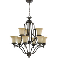 Coventry 9 Light 27 inch Toasted Sienna Chandelier Ceiling Light
