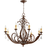 Quorum 619-8-39 Montgomery 8 Light 34 inch Vintage Copper Chandelier Ceiling Light