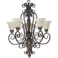 Coronado 5 Light 29 inch Gilded Bronze Chandelier Ceiling Light