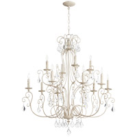 Quorum 6205-12-70 Ariel 12 Light 35 inch Persian White Chandelier Ceiling Light