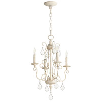 Quorum 6205-4-70 Ariel 4 Light 16 inch Persian White Chandelier Ceiling Light