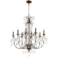 Quorum 6205-8-39 Ariel 8 Light 30 inch Vintage Copper Chandelier Ceiling Light photo thumbnail