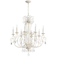 Quorum 6205-8-70 Ariel 8 Light 30 inch Persian White Chandelier Ceiling Light