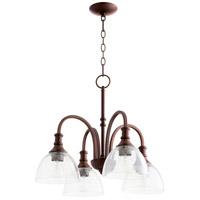 Quorum 6211-4-186 Richmond 4 Light 23 inch Oiled Bronze Nook Ceiling Light