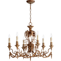 Quorum Salento 6 Light Chandelier in Vintage Copper 6236-6-39