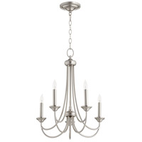 Satin Nickel Brooks Chandeliers