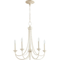 Quorum 6250-5-70 Brooks 5 Light 22 inch Persian White Chandelier Ceiling Light